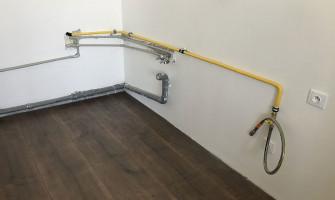 Rekonštrukcia bytového plynovodu santikorovou rúrkou GAS PROFI ahadicou GAS PROFI
