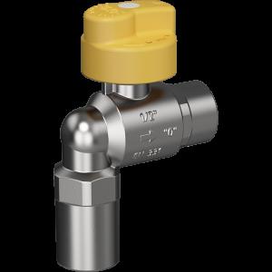 """Bezpečnostný plynový ventil Merabell VAIT Rp1/2"""" – Rp1/2"""" – rohový"""